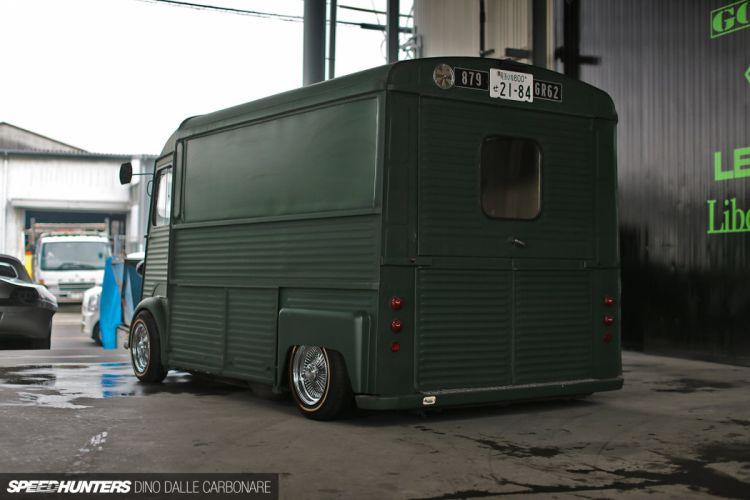 Citroen H Van transport retro custom lowrider tuning f wallpaper