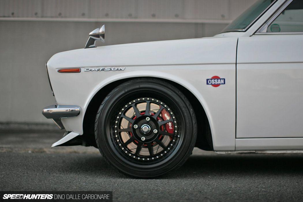 Datsun 510 Bluebird Coupe tuning wheel     f wallpaper