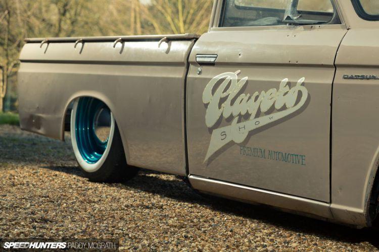 Datsun 520 Pickup lowrider classic tuning wheel f wallpaper