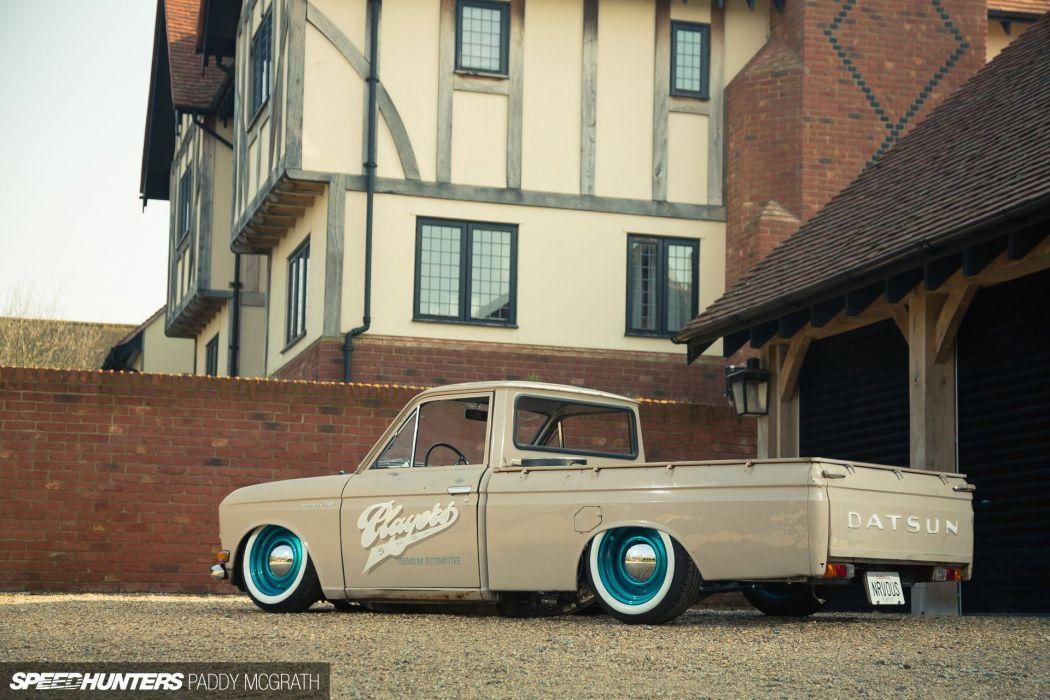 Datsun 520 Pickup lowrider classic tuning  g wallpaper