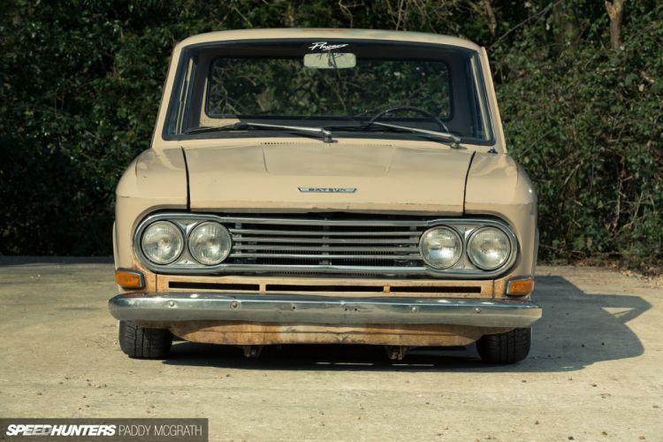 Datsun 520 Pickup lowrider classic tuning fs wallpaper