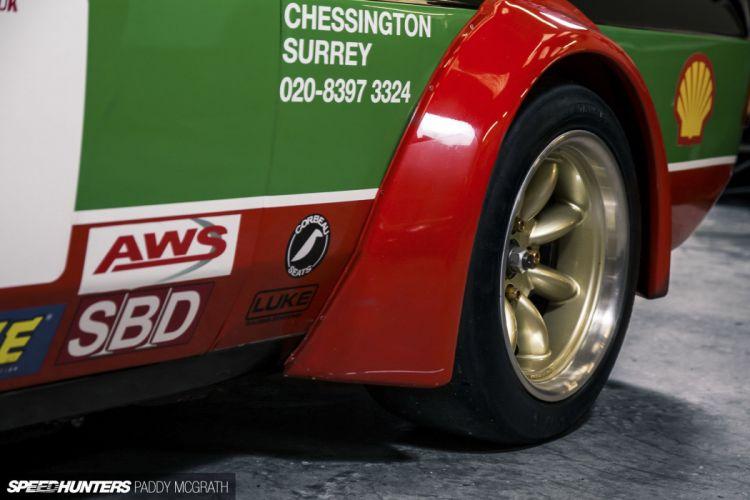 Ford Escort two-door Mk2 race racing tuning wheel g wallpaper