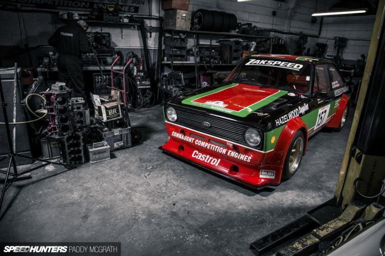 Ford Escort two-door Mk2 race racing tuning r wallpaper