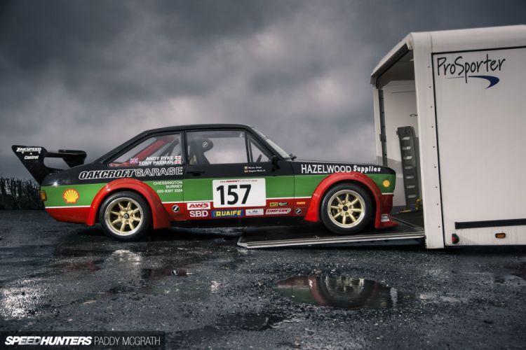 Ford Escort two-door Mk2 race racing tuning g wallpaper