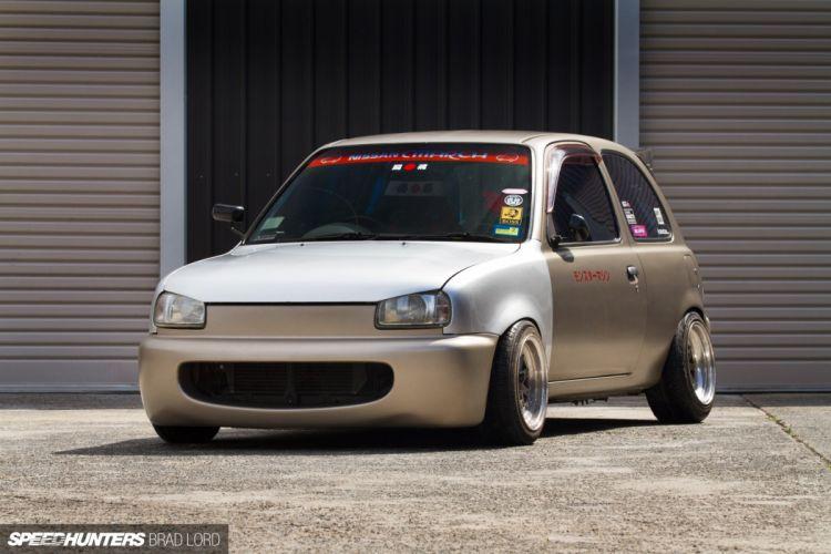 K11 Micra Nissan turbo tuning race racing c wallpaper