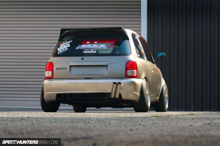 K11 Micra Nissan turbo tuning race racing b wallpaper