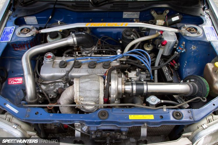 K11 Micra Nissan turbo tuning race racing engine h wallpaper