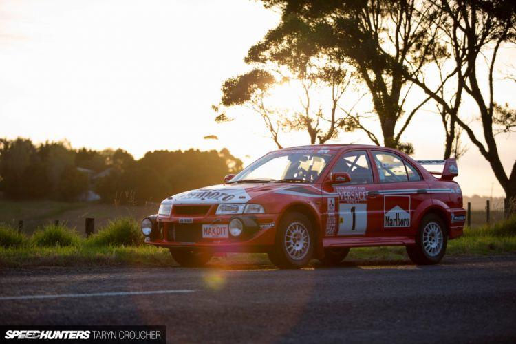 Mitsubishi EVO Rally race racing f wallpaper