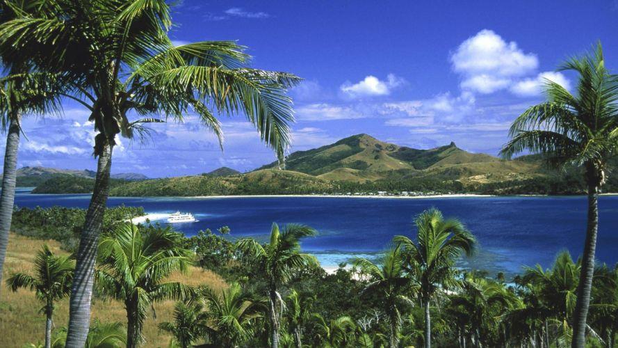 landscapes Fiji islands wallpaper