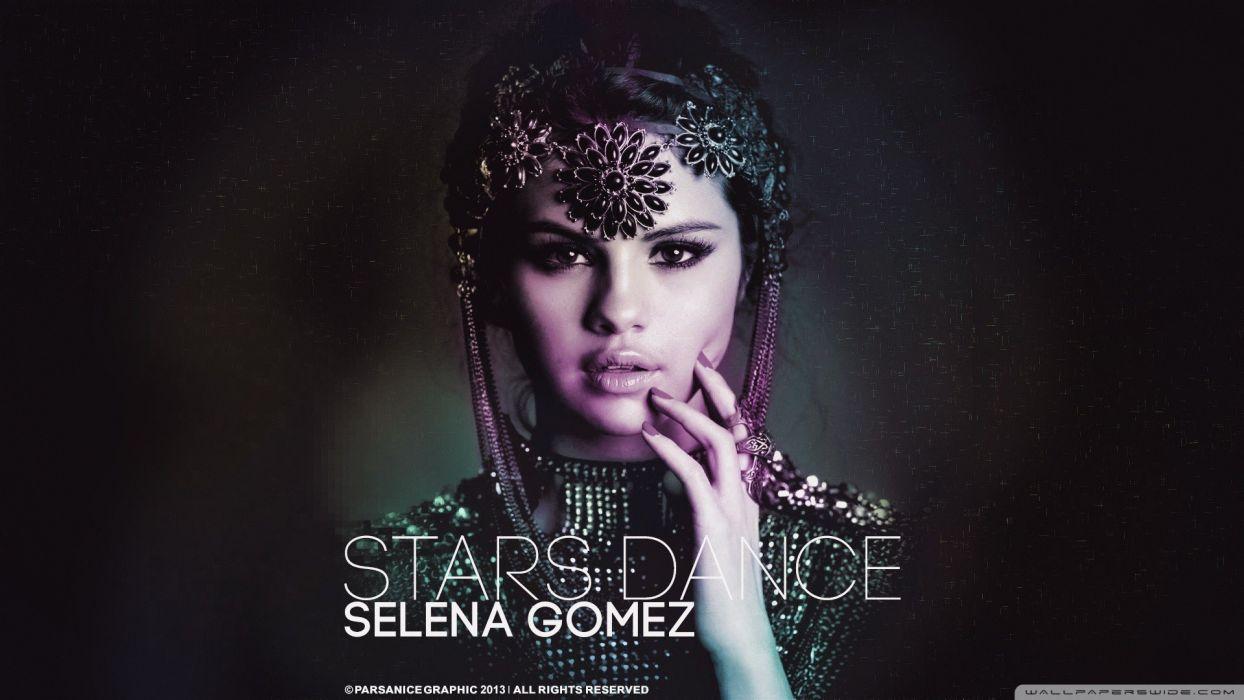 Selena Gomez dance singers Album wallpaper