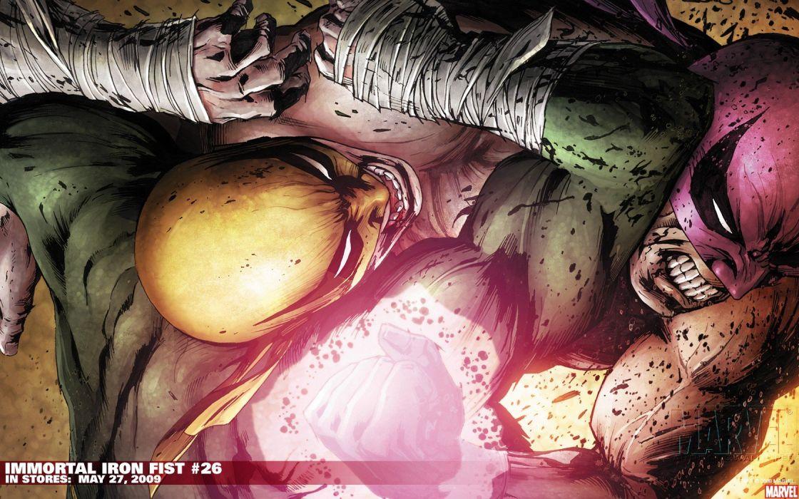 comics Iron Fist Marvel Comics wallpaper