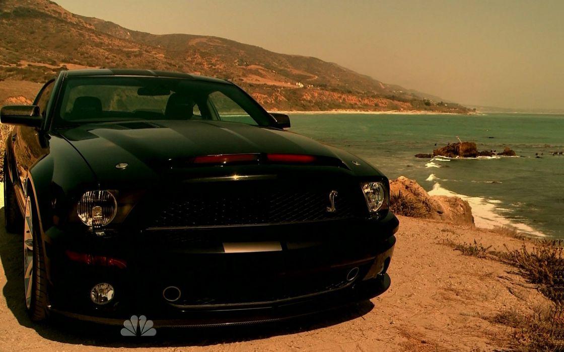 cars vehicles Ford Mustang Knight Rider wallpaper