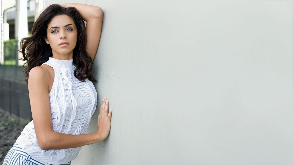 brunettes women models alessandro cardoso wallpaper