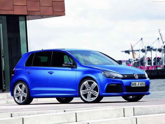 cars Volkswagen Golf Volkswagen golf R wallpaper