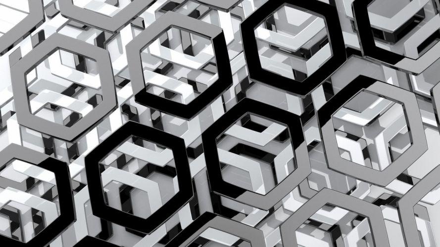 artistic CGI wallpaper