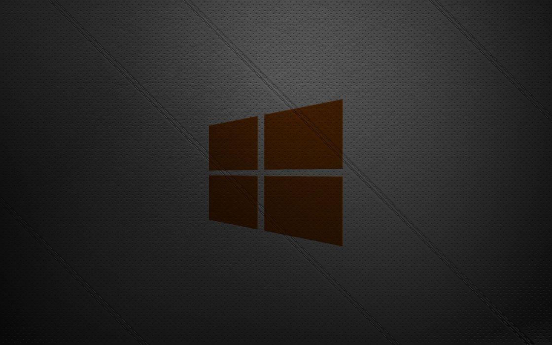 leather Windows 8 window panes wallpaper