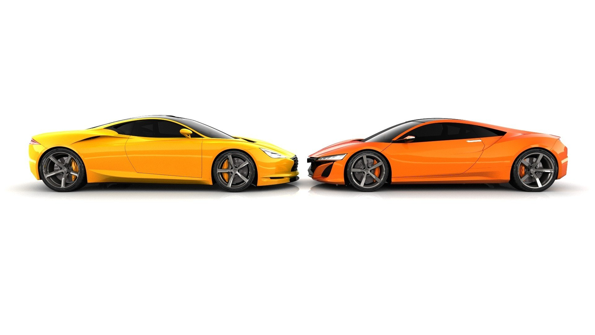 Cars concept art vehicles Infiniti concept cars Acura Acura NSX white background side view ...