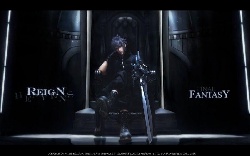 Final Fantasy Final Fantasy XIII anime wallpaper