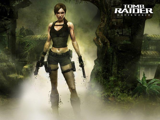 Tomb Raider Underworld normal wallpaper