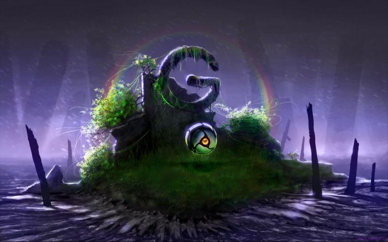 rainbows Romantically Apocalyptic Vitaly S Alexius wallpaper