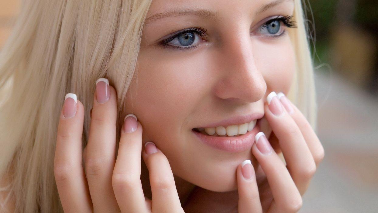 blondes women models Alysha A wallpaper