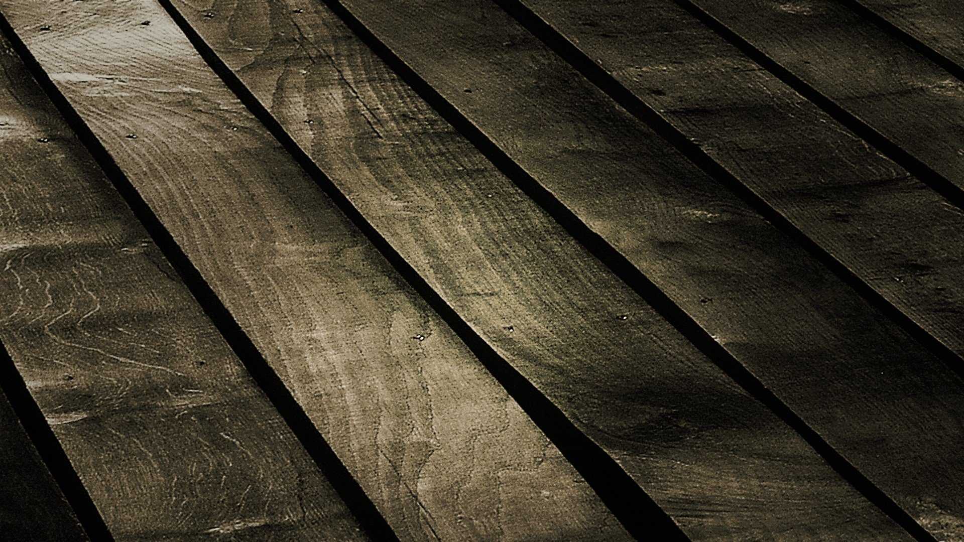 Wood Panels Floor Wallpaper