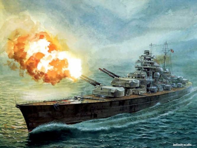 paintings Nazi vehicles battleships wallpaper