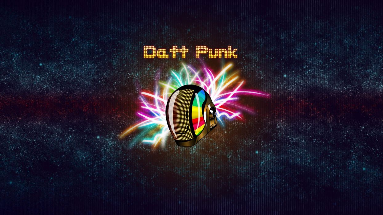 minimalistic music Daft Punk helmets bands wallpaper