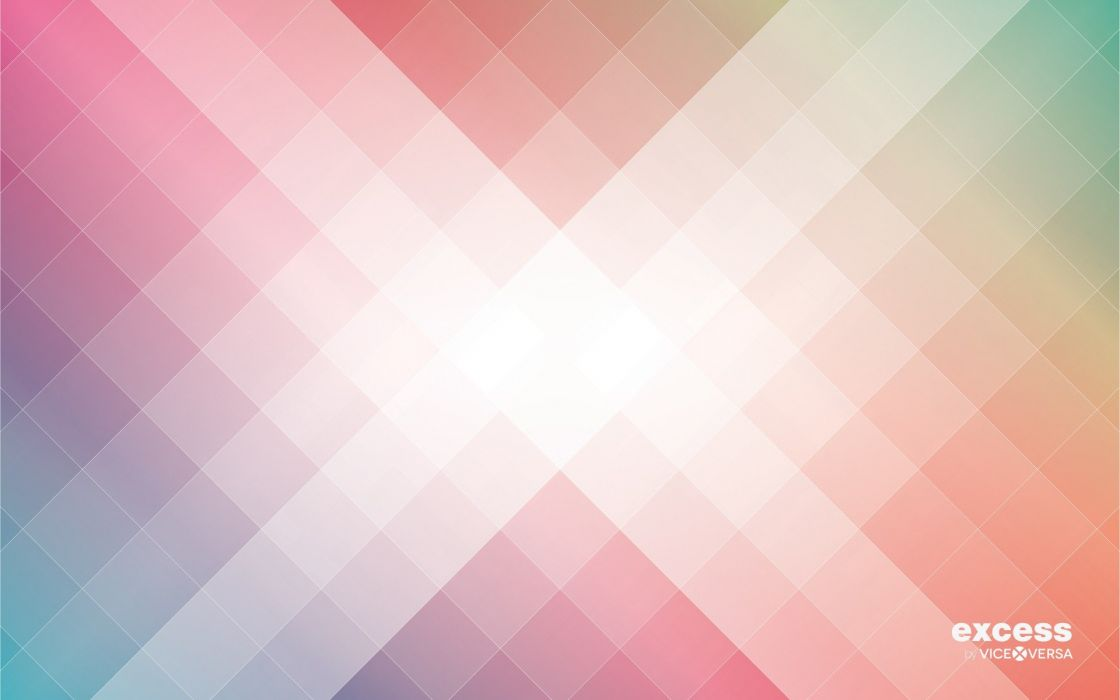 minimalistic rainbows geometry squares Excess wallpaper