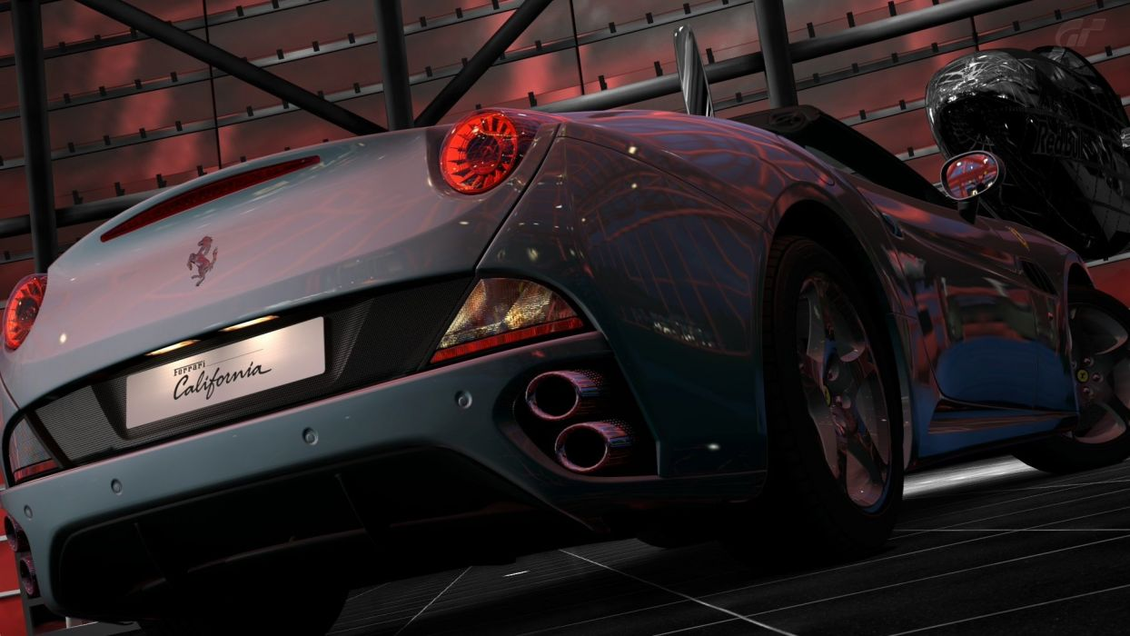video games cars vehicles Ferrari California Gran Turismo 5 Playstation 3 wallpaper