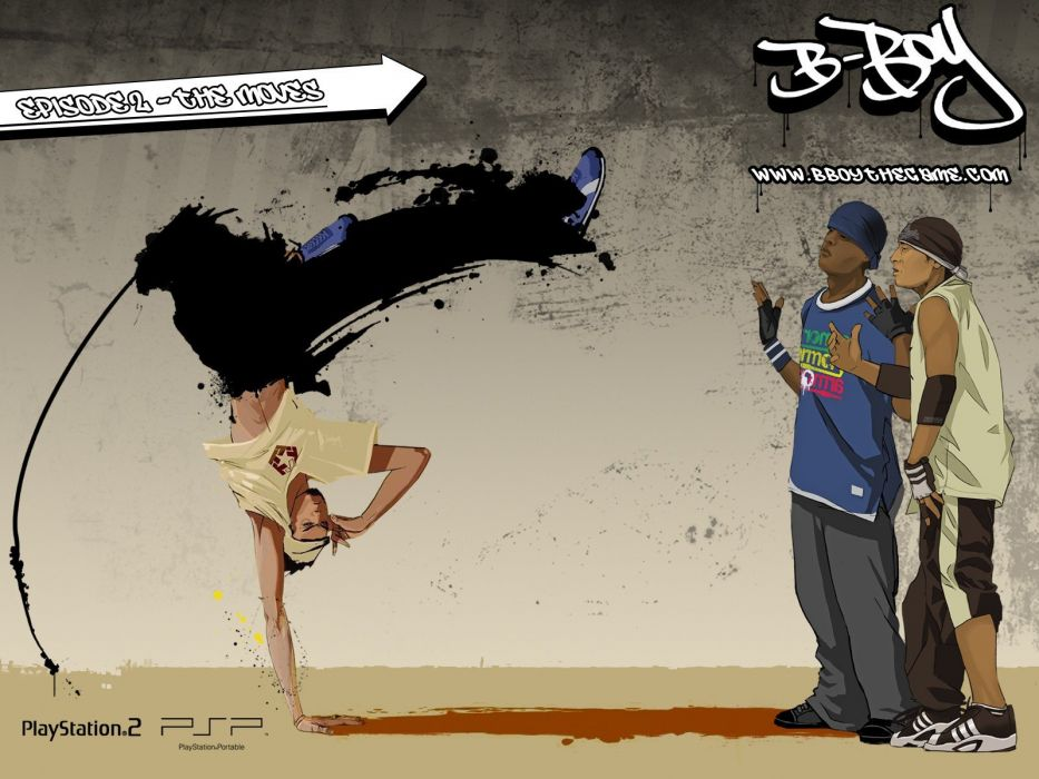 dance dancers dancing breakdancing b-boy B-Boy the Game street dance wallpaper