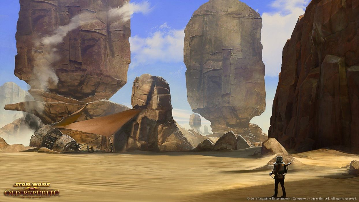 Star Wars concept art Star Wars: The Old Republic wallpaper