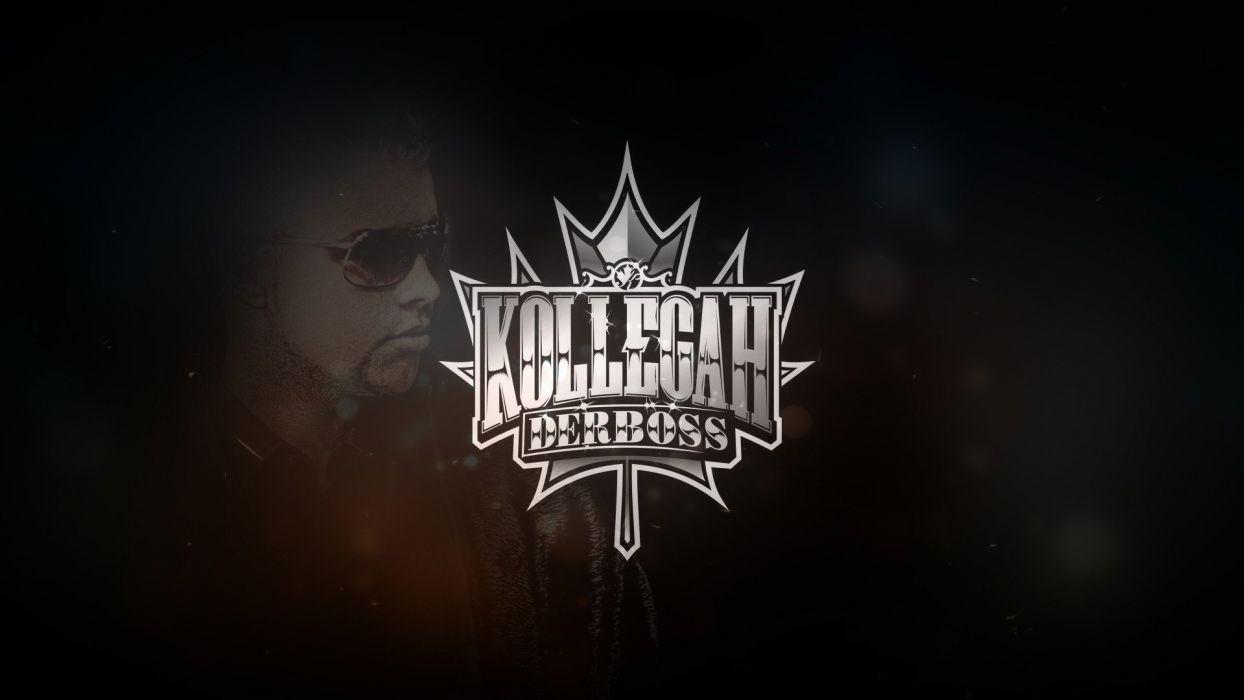 boss rap sunglasses artwork rapper Kollegah wallpaper