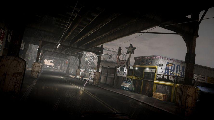 video games night urban GTA IV wallpaper