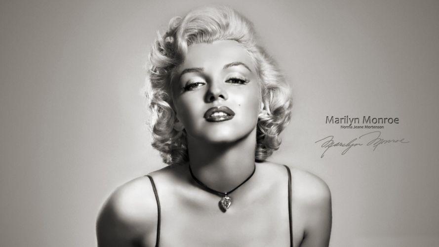 women eyes models Marilyn Monroe monochrome faces portraits wallpaper