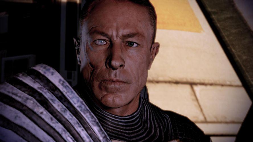 screenshots Mass Effect 2 Zaeed Massani wallpaper