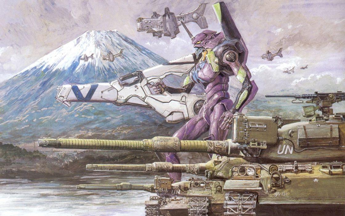 Neon Genesis Evangelion EVA Unit 01 wallpaper