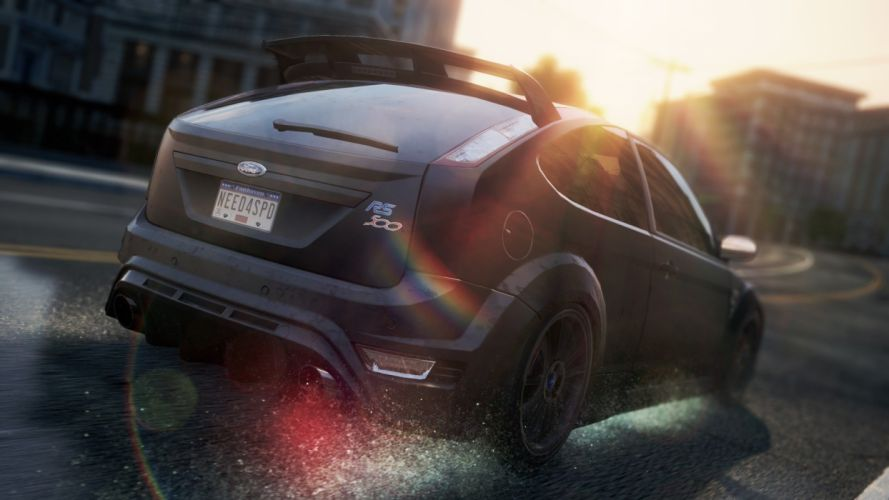 video games cars Ford Focus Ford Focus RS500 Need for Speed Most Wanted 2 wallpaper