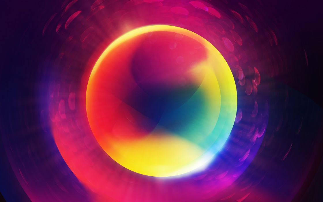 abstract multicolor purple circles photo manipulation marbles orb wallpaper