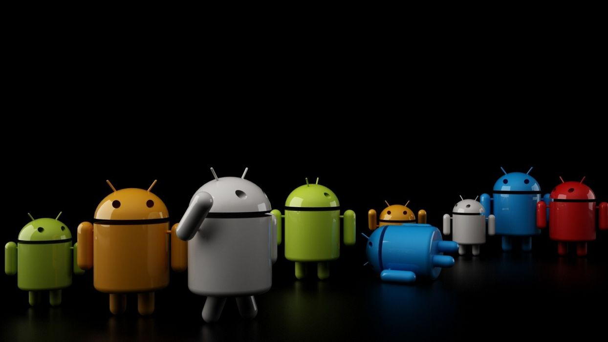 abstract Android funny wallpaper