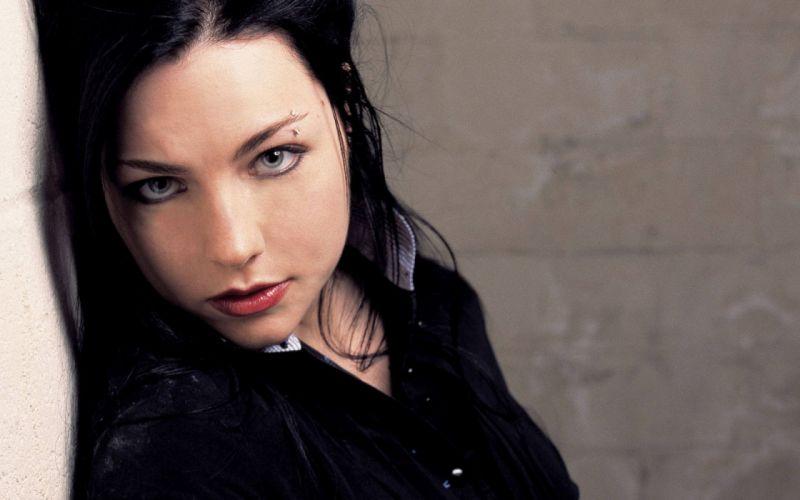 women Amy Lee Evanescence singers wallpaper