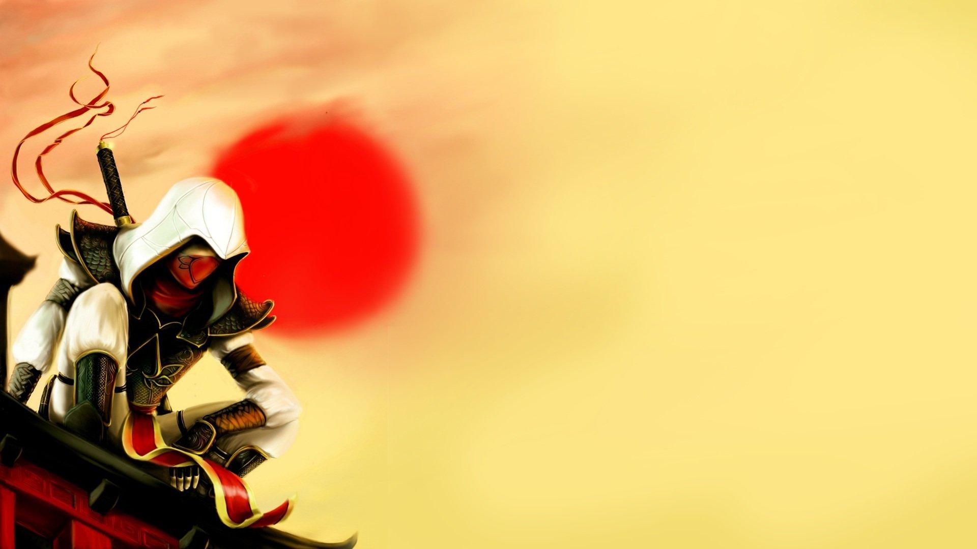 Assassins Creed Ninjas Japanese Wallpaper 1920x1080 312076