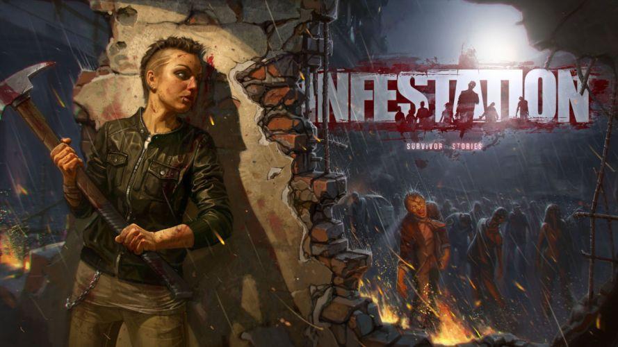 WARZ Infestation Survivor Stories zombie dark horror online sci-fi (21) wallpaper