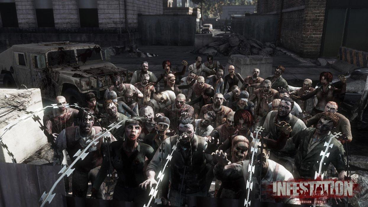 WARZ Infestation Survivor Stories zombie dark horror online sci-fi (19) wallpaper