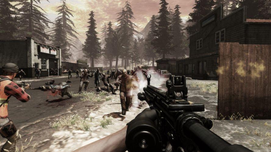 WARZ Infestation Survivor Stories zombie dark horror online sci-fi (29) wallpaper