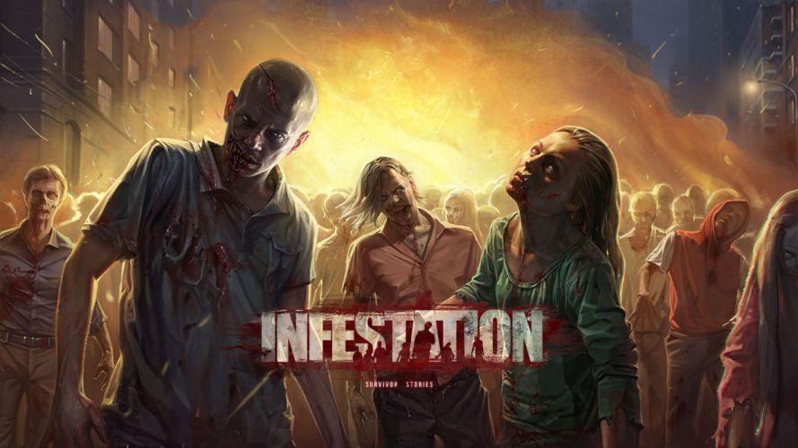 WARZ Infestation Survivor Stories zombie dark horror online sci-fi (25) wallpaper