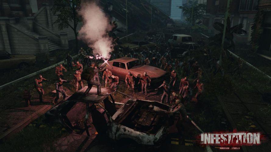 WARZ Infestation Survivor Stories zombie dark horror online sci-fi (49) wallpaper