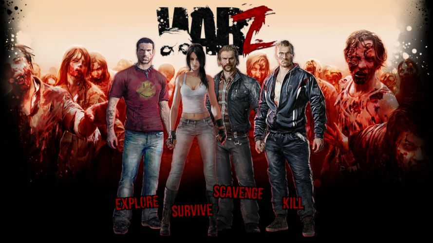 WARZ Infestation Survivor Stories zombie dark horror online sci-fi (39) wallpaper