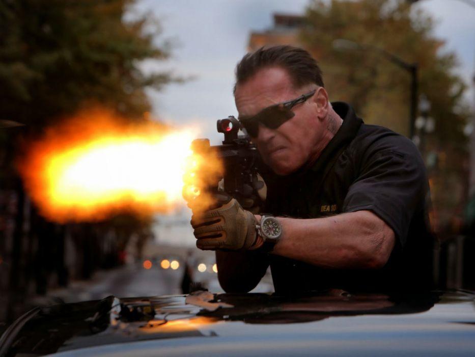 SABOTAGE action crime drama movie film weapon gun weapon gun battle wallpaper