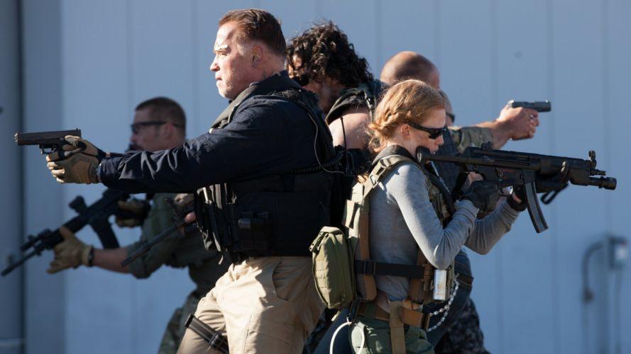 SABOTAGE action crime drama movie film weapon gun wallpaper